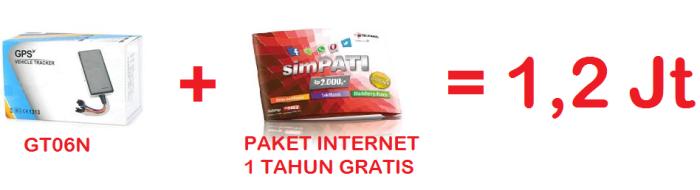 paket gps tracker gto6n dengan telkomsel